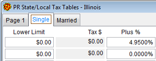 PR State-Local Tax Tables Single tab
