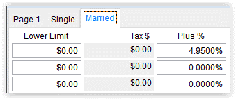 2021 PR State-Local Tax Tables - Married tab - Illinois